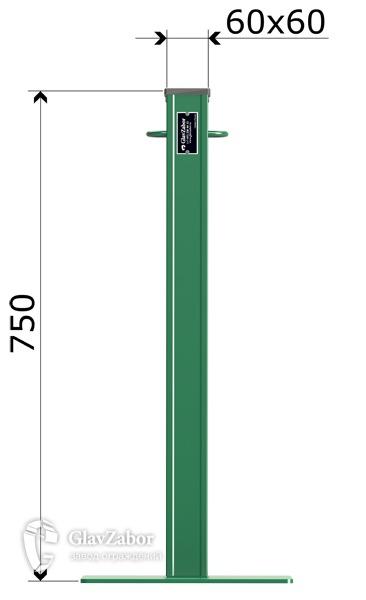 столбики переносные оцинкованные (тип 505)