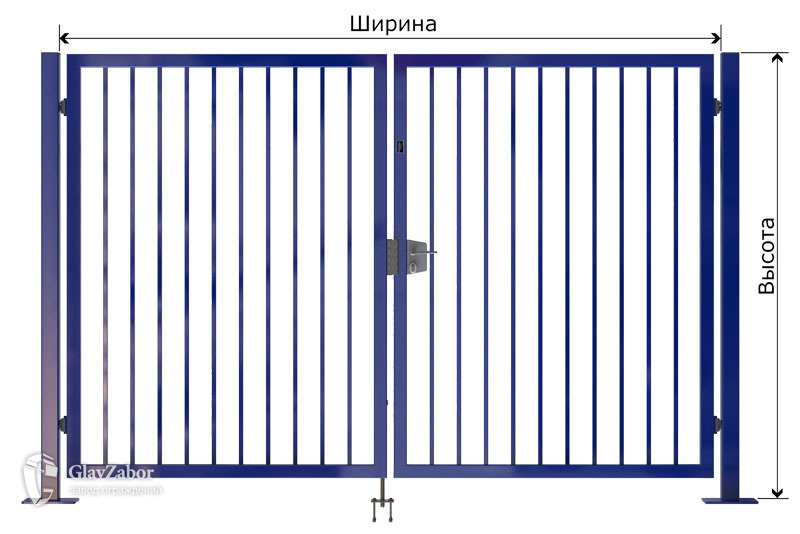 капитальные (тип B) для огр. из профильных труб