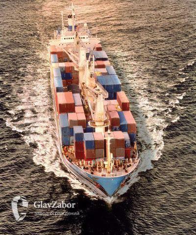 Доставка в контейнерах