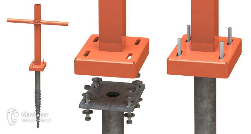 Ключ для ручной установки винтовой опоры