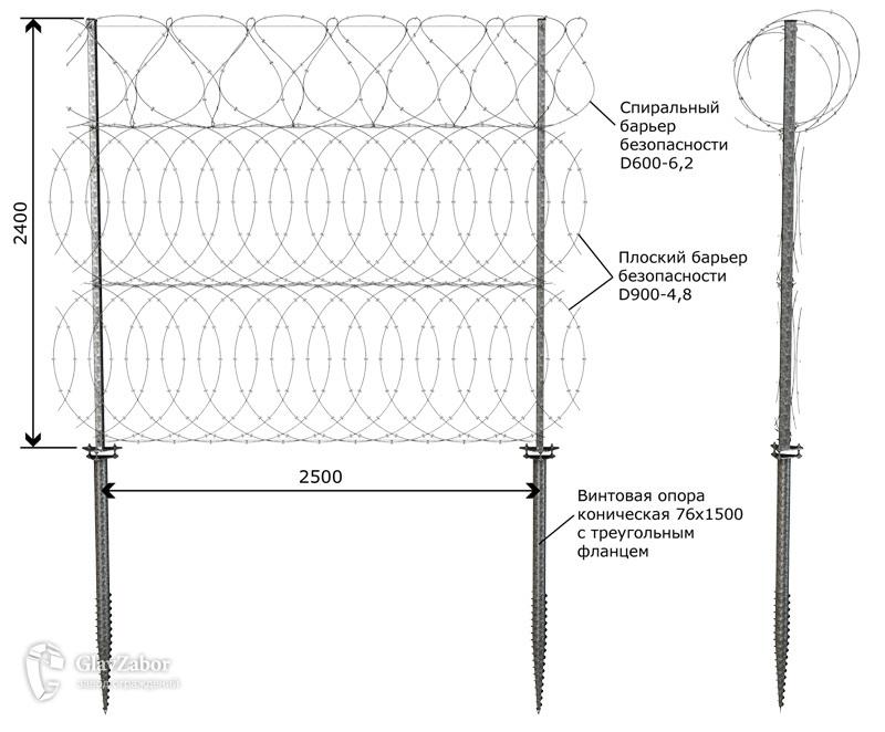 Эскиз ИЗП (тип 603) высотой 2400