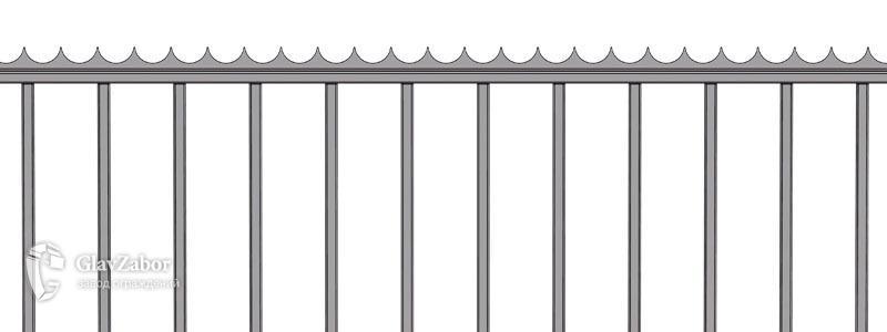 Декоративный барьер безопасности