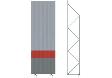 Шумозащитные ограждения высотой 12 метров (тип 309)