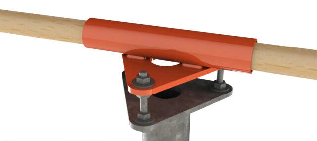 Эконом ключ для ручной установки винтовой опоры